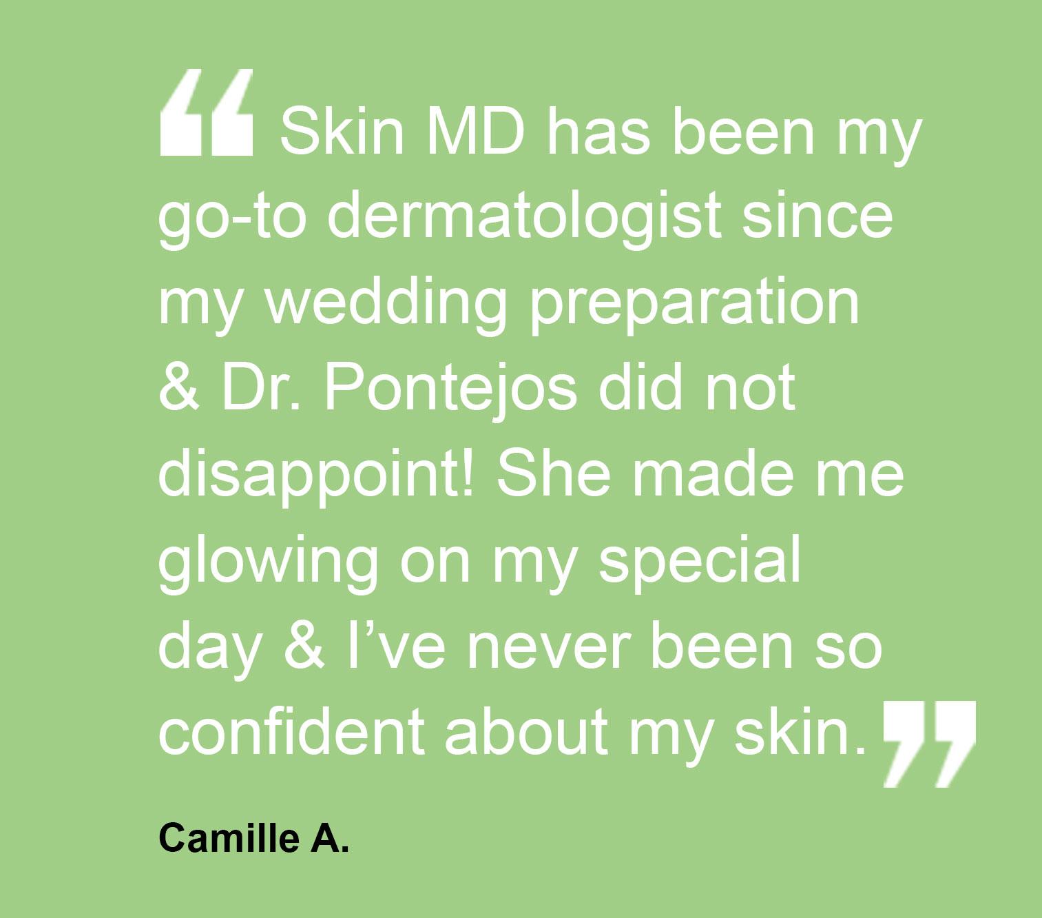 Testimonial - Camille A.