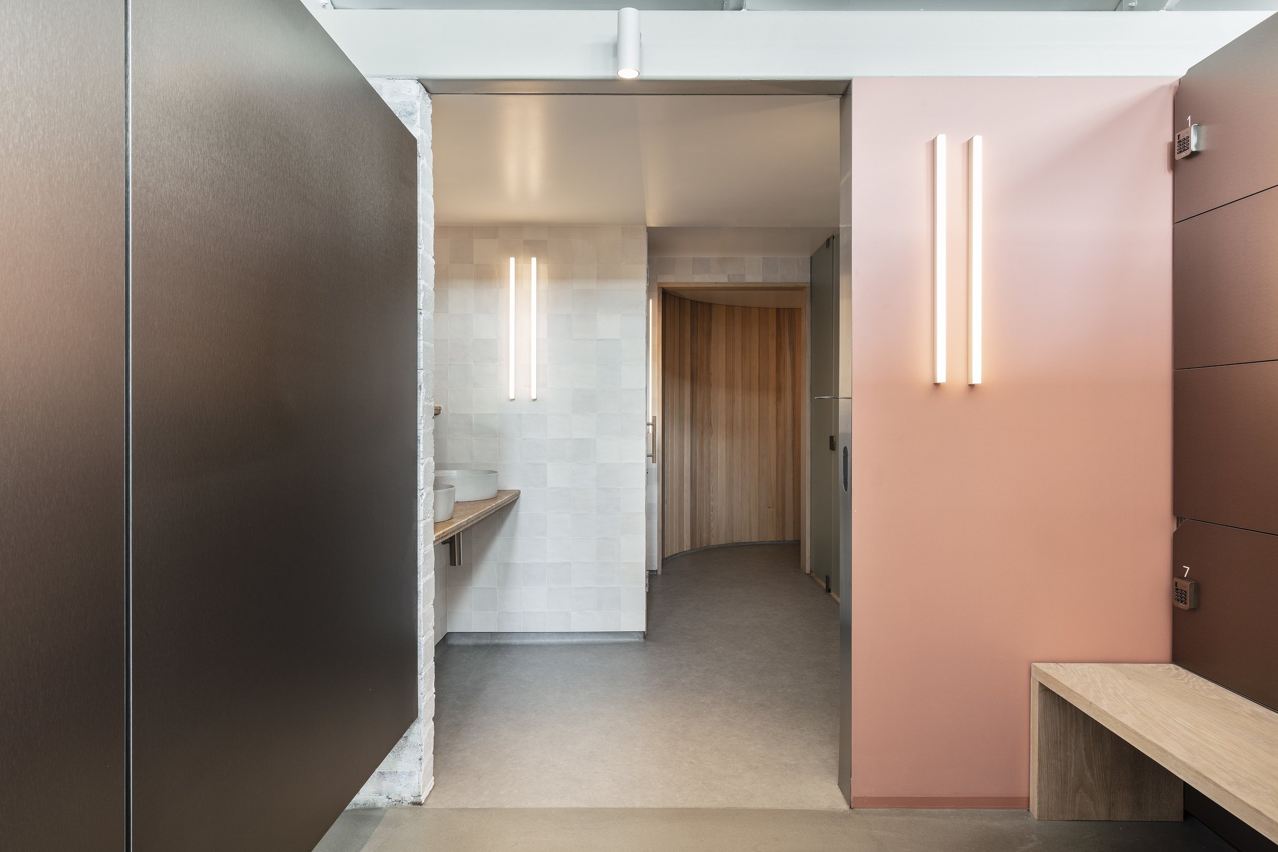 Designed by Anna Trefely,  Shelter  features a restrained and minimal palette of materials and colour.