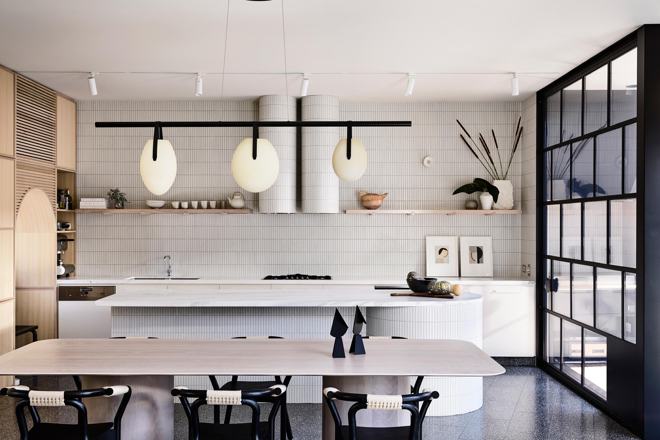 Dulux Colour Awards 2019 - Residential Interior. Caroline House by  Kennedy Nolan . Photo - Derek Swalwell.