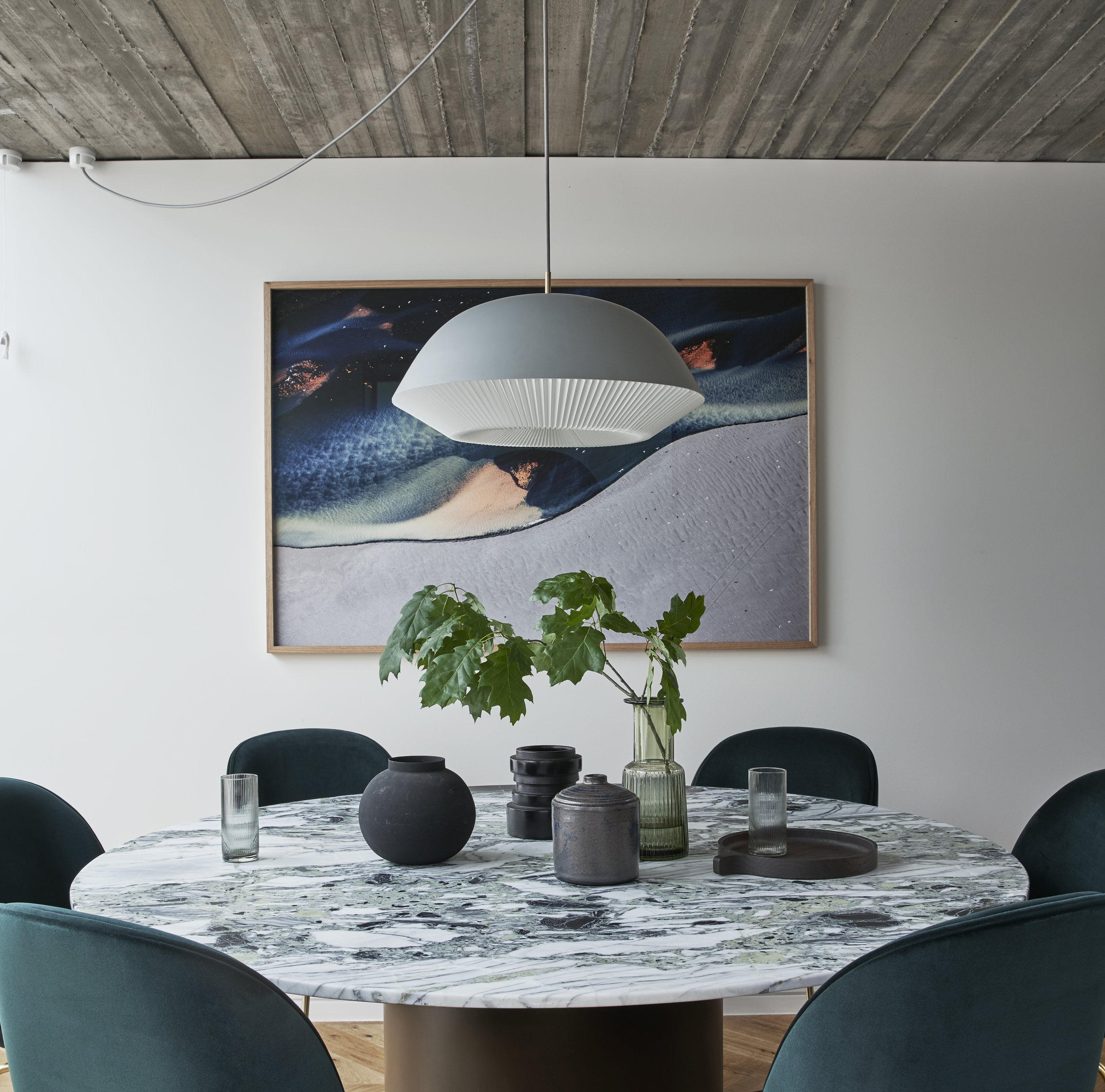 Dulux Colour Awards 2019 - Residential Interior. Fitzroy Terrace by  Taylor Knights . Photo - Peter Clarke.