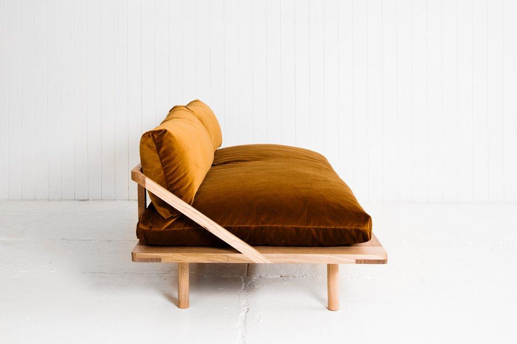 3 |  The L-Dreamer Couch in Velvet from  Pop & Scott .