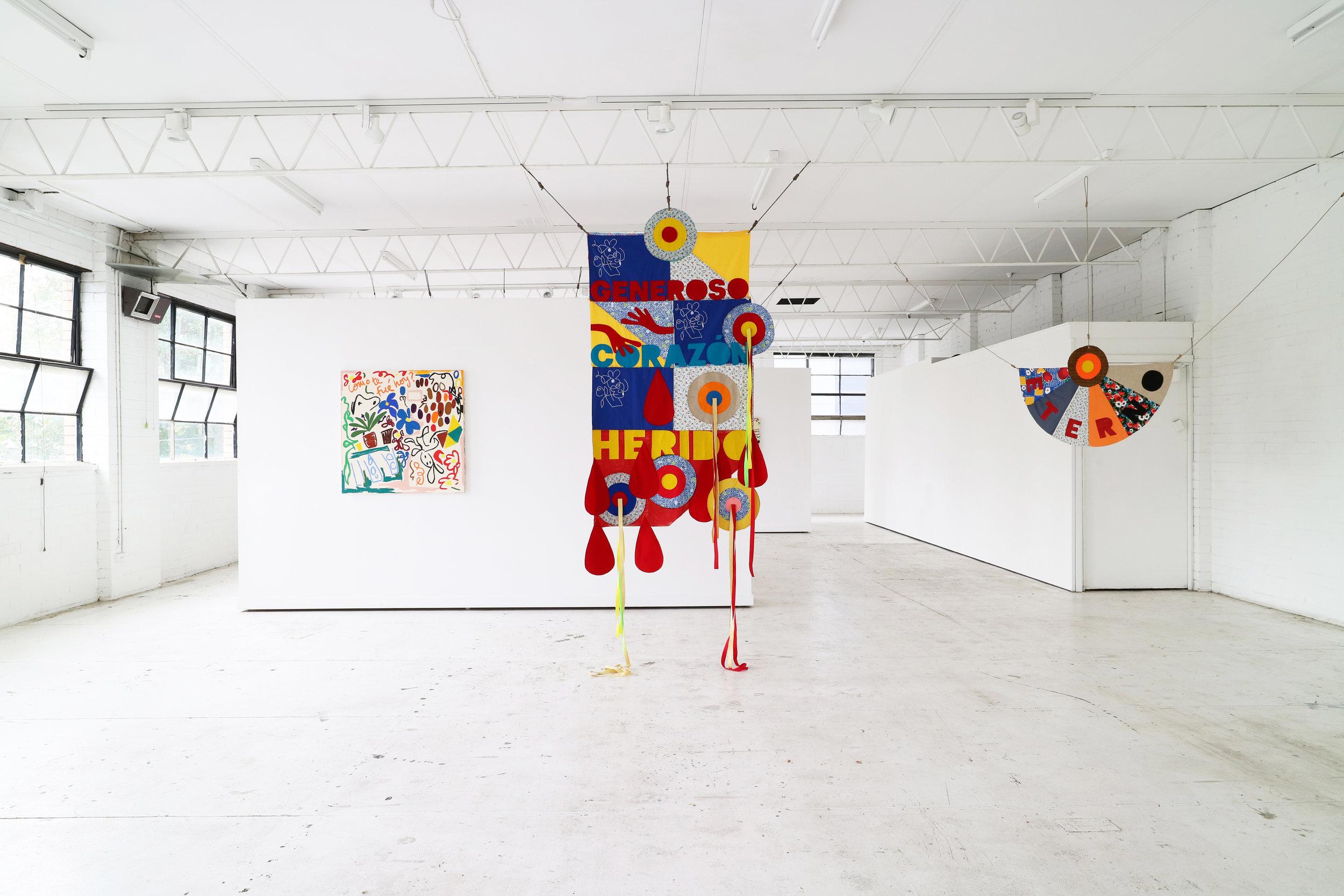 Sangrante Imataca -  courtesy of Nadia Hernández and  Blackartprojects .