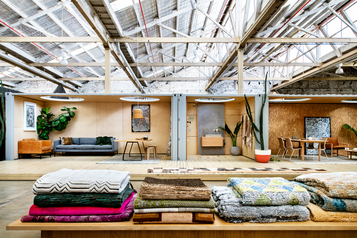 The  Koskela  Rosebery Store, a 2000m2 100-year-old warehouse in Rosebery, Sydney. Photo - Courtesy of Koskela.