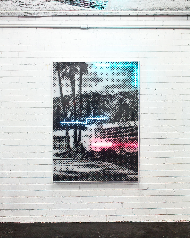 Palm Shade,  2019 by Tom Adair.