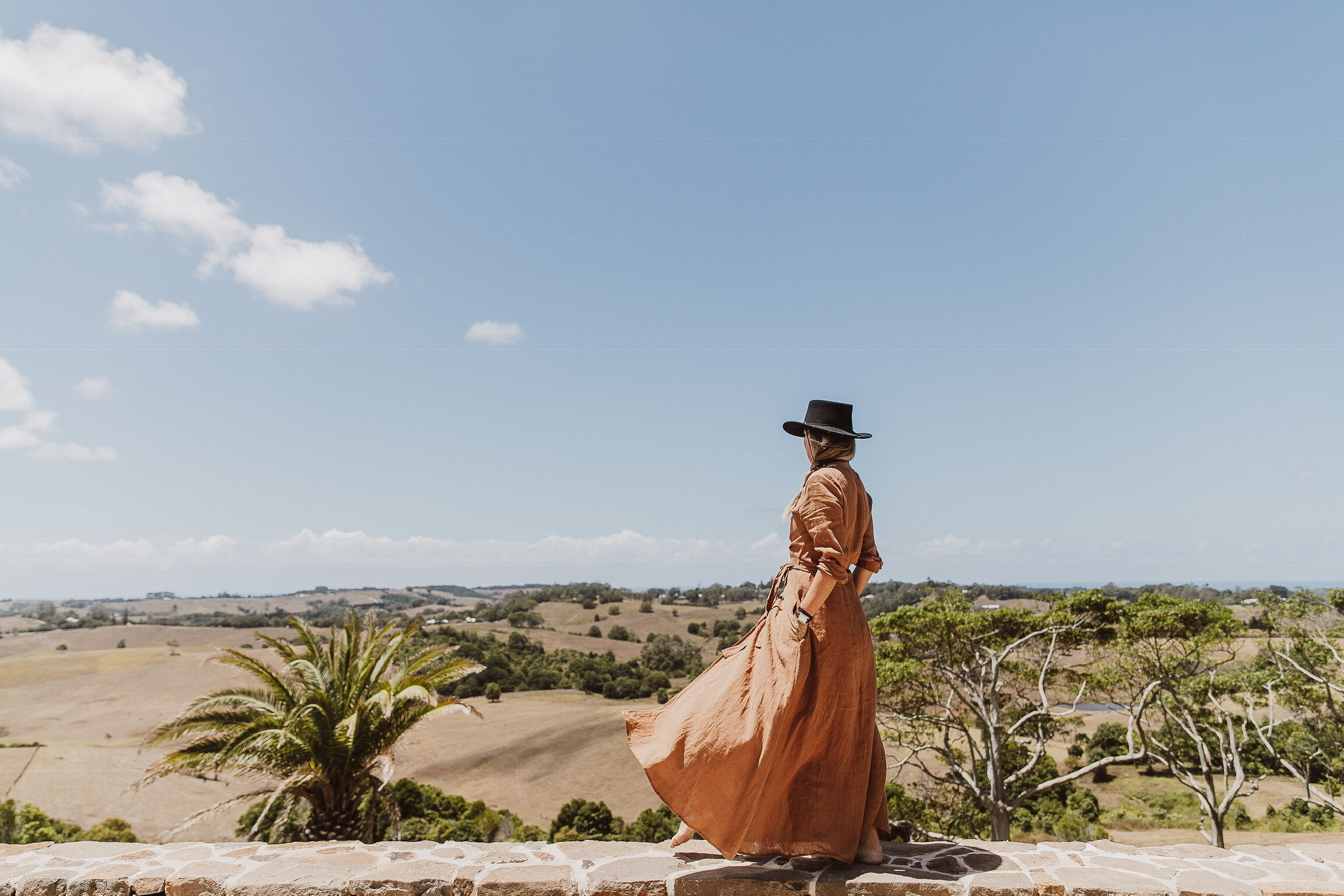 In her childhood, Emma spent holidays in the Canary Islands where she discovered an appreciation of earthy Spanish terracotta and soft rendered walls. Photo - Lucy Laught.