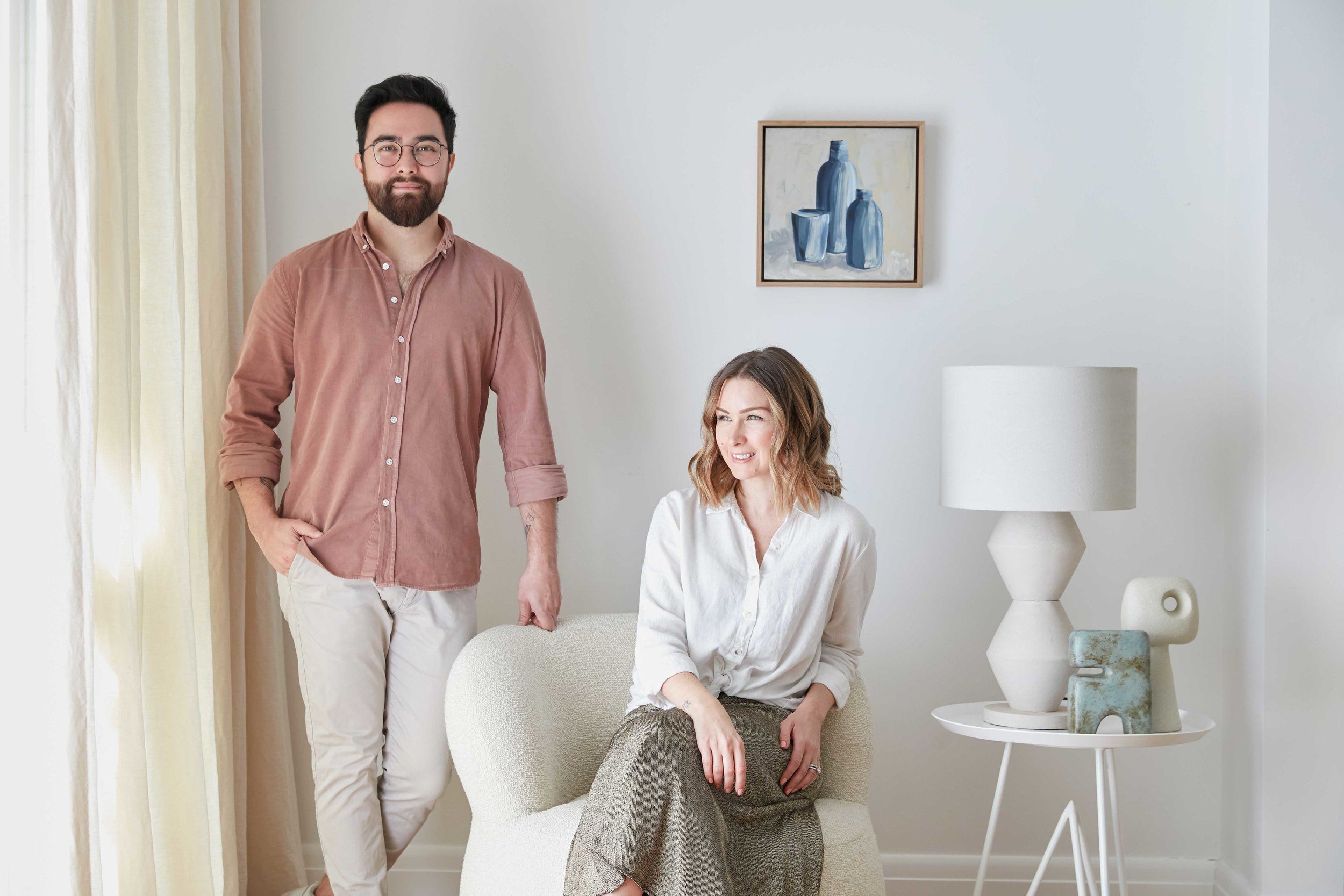 Jono Fleming and Kerrie-Ann Jones will shine a spotlight on what it takes to become an iconic Australian figure in today's interiors landscape on the  House of Style  podcast. Photo -  Jacqui Turk .