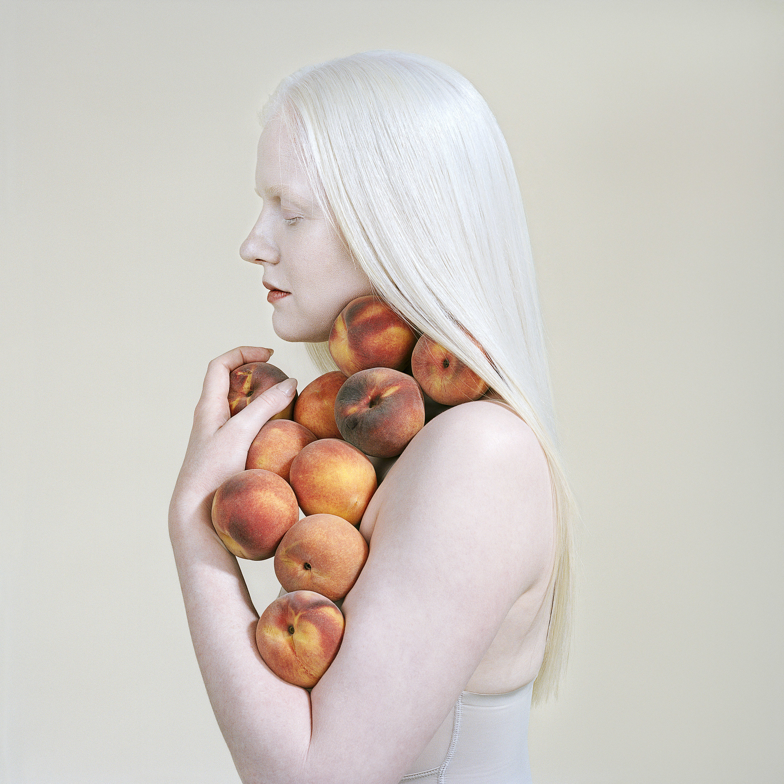Bruised Peaches,  2018   by Petrina Hicks from  Still Life Studio  series.