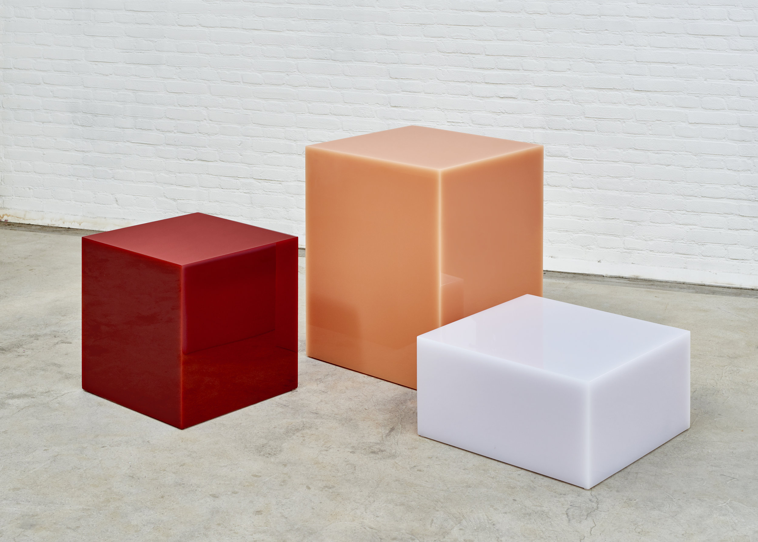 CANDY CUBES  | Seemingly solid objects with a magical glowing edge. Photo -  Jeroen Verrecht .
