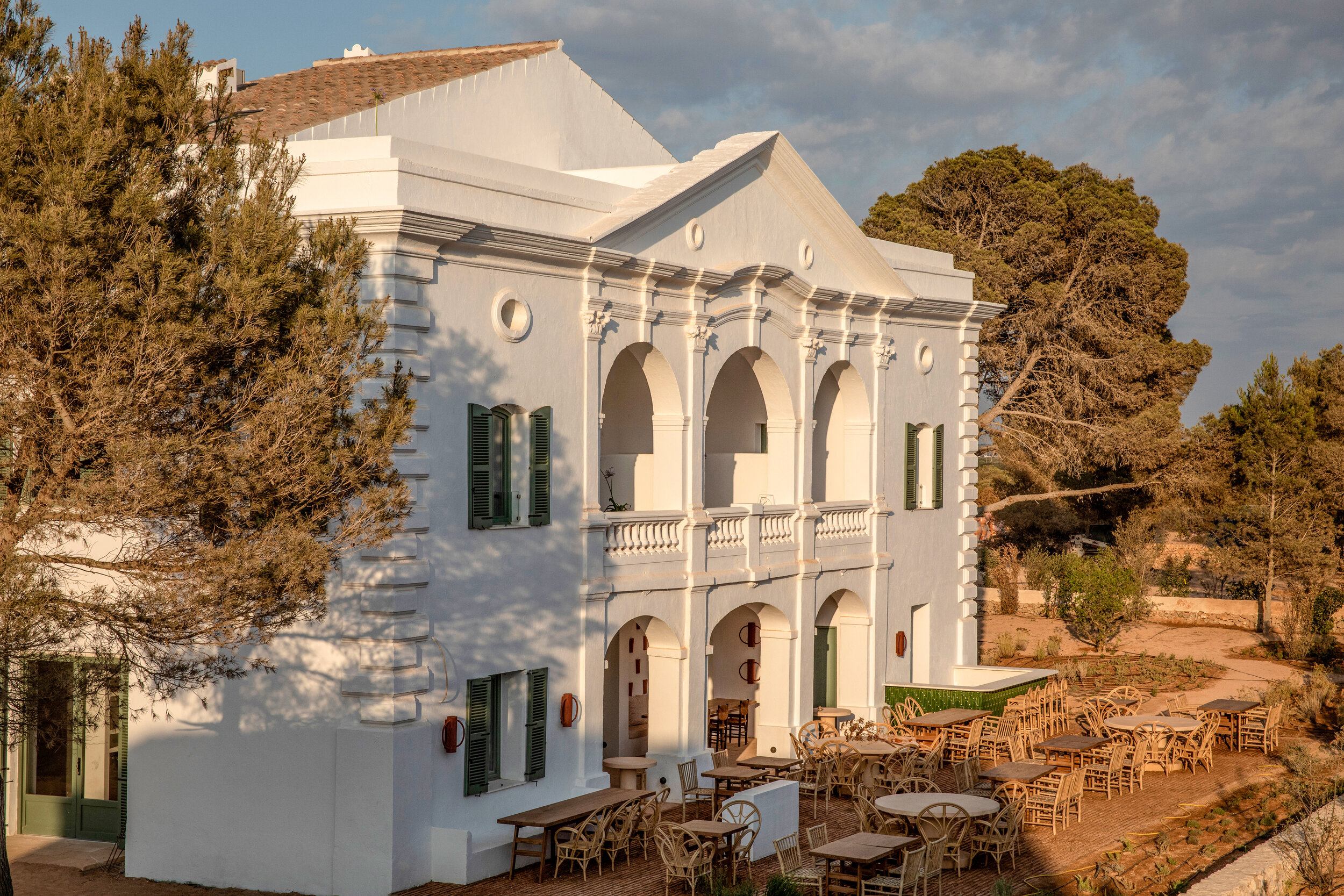 Experimental Hotel's latest opening was born out of the bones of a 19th-century Finca on the island of Menorca in the Mediterranean.