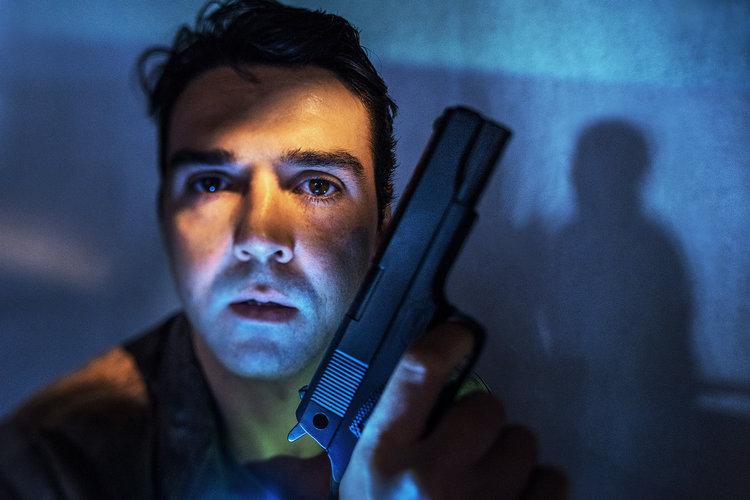 Graeme McRae in 'Stalking the Bogeyman'. Image by John Marmaras.