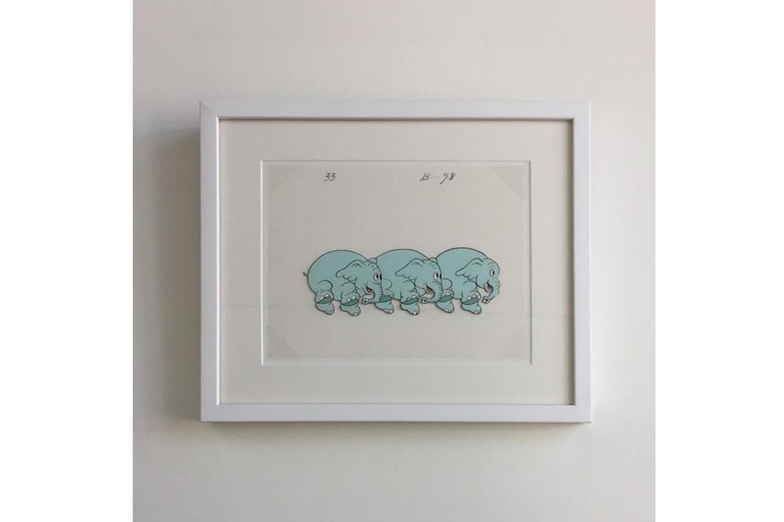 Original Elephants on Parade Animation Cel