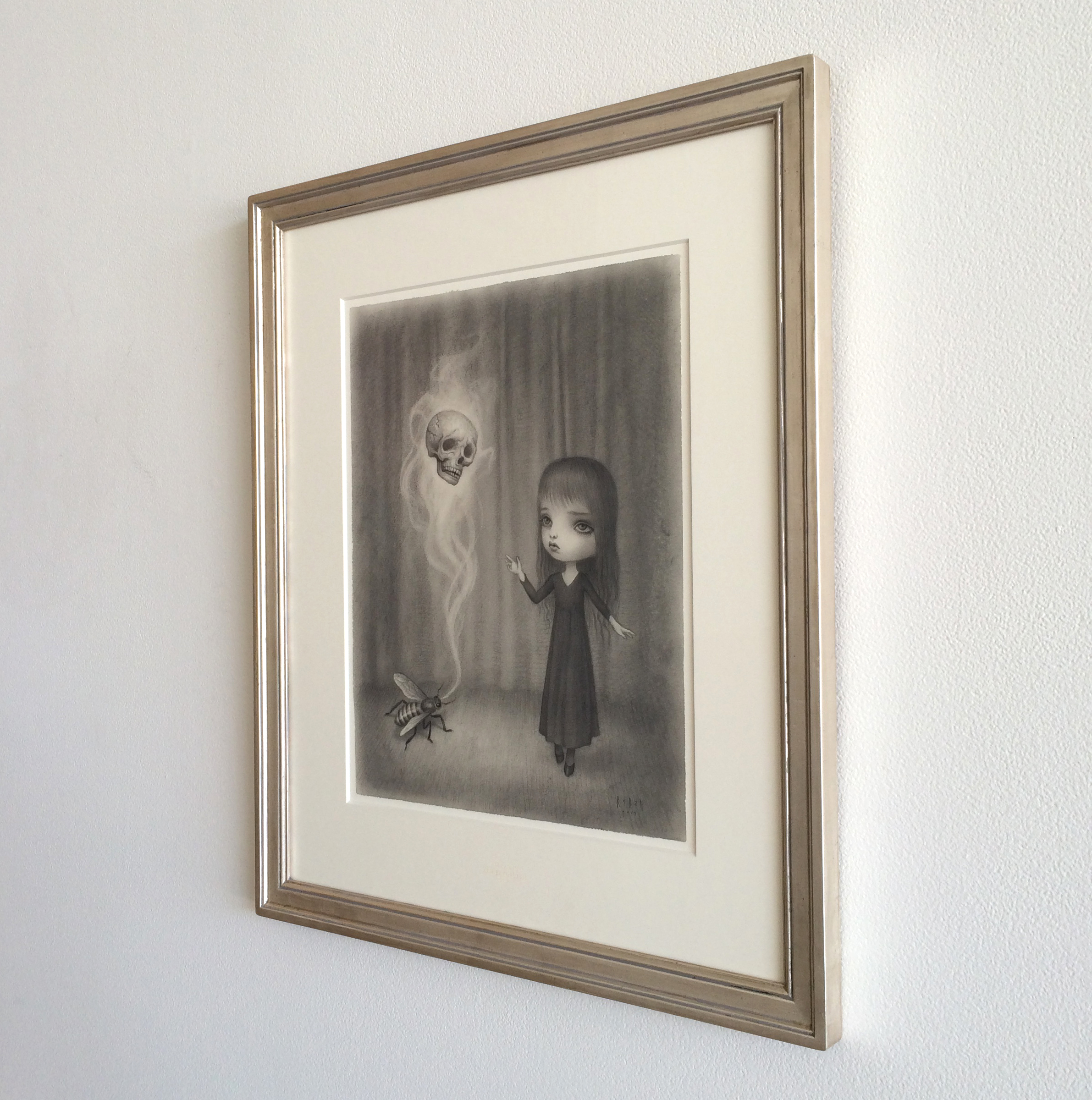 Original Drawing by Mark Ryden (graphite on paper)