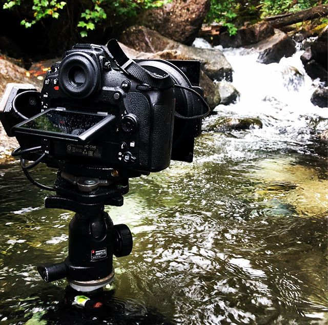 Went neck deep with the @Mande ottoimaginemore 055x tripod today getting those long exposures. #nikond850 @haidafilter