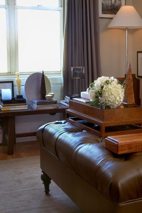 Elegant classic design with wooden furniture