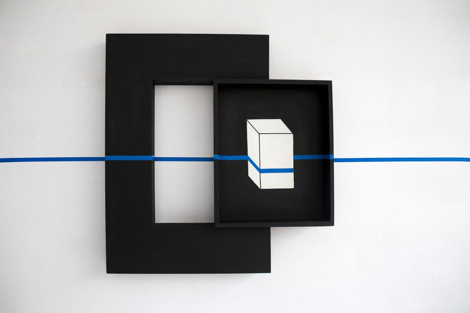 Intervention  1983 by Edward Krasiński