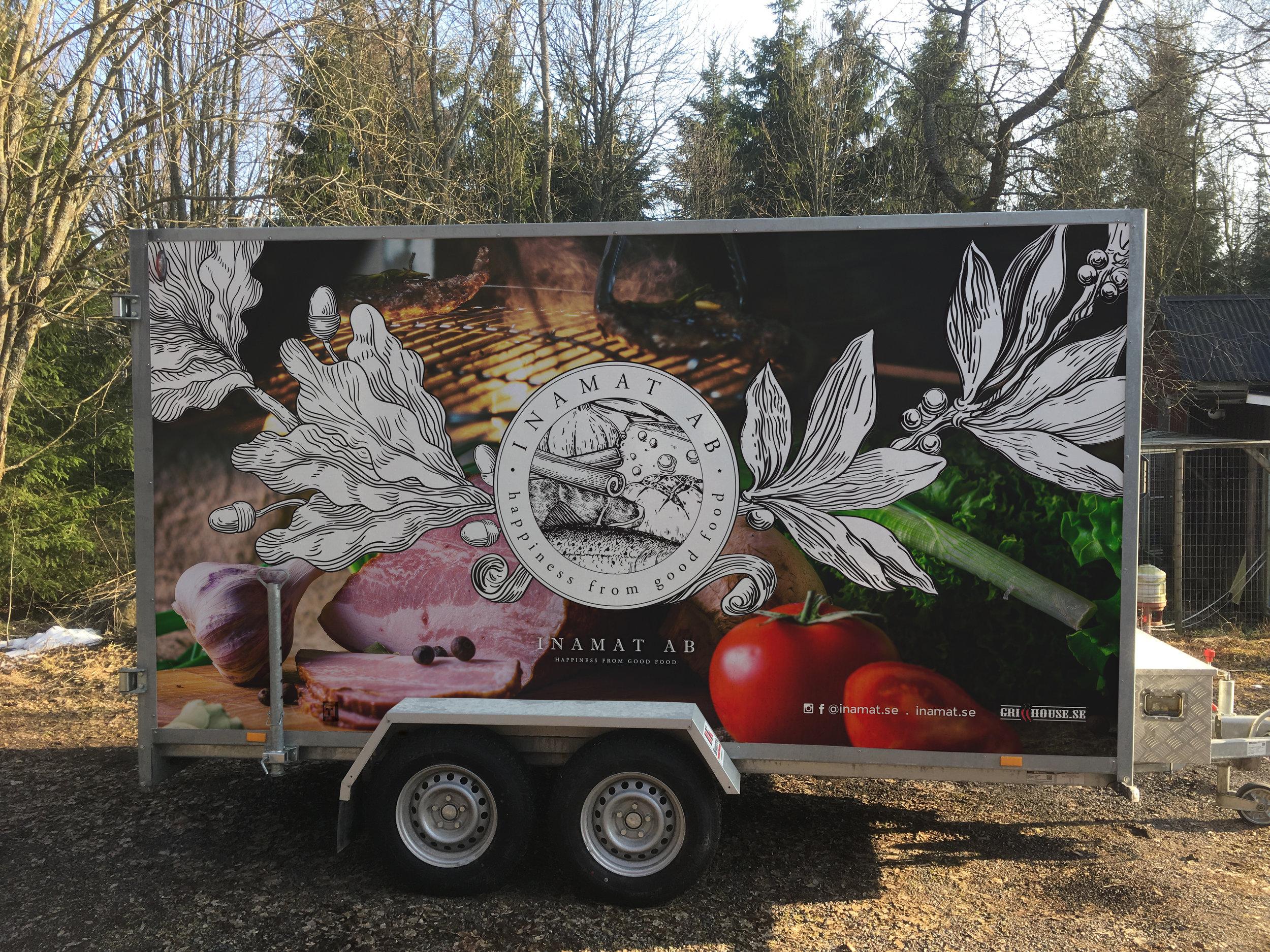 Vehicle Graphics - Truck Wrap