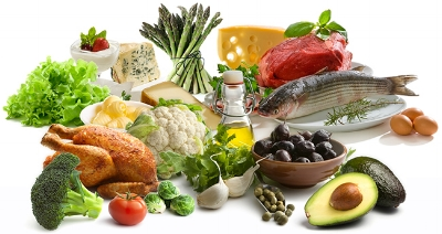 A well balanced diet is full of a variety of fresh fruits, vegetables, proteins and healthy fats.