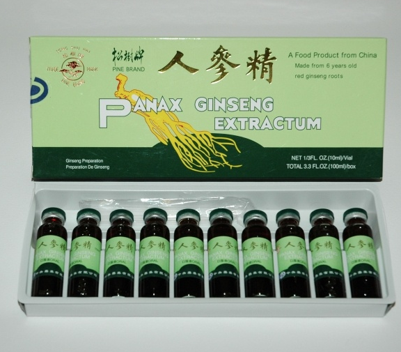 This is a common form of ginseng product taken in Asian countries