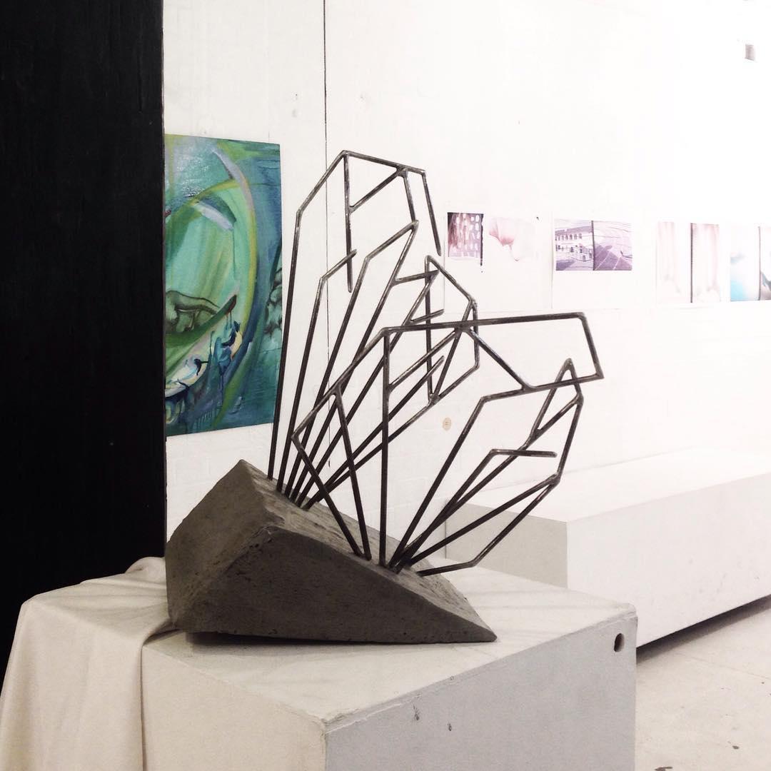 Bel Campbell Fly Veins Sculpture