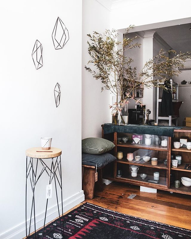 Hi friends! Visit me this week at @theproviderstore where I'll be peddling new steel pieces & beautiful Japanese wares ✨10am - 6pm Riley & Foveaux Surry Hills