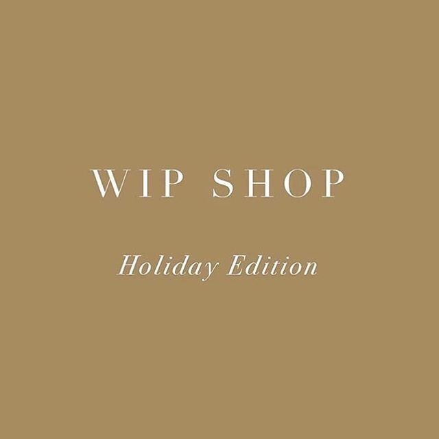 WIP Shop Holiday Edition launches this Thursday! Join us for opening drinks by @collector_wines from 6pm. This edition features 13 local designers in a stunning new space FULL of beautiful garments, ceramics, jewellery, art & furniture. I'll be debuting new ink and steel pieces, come say hi! 👋🏻