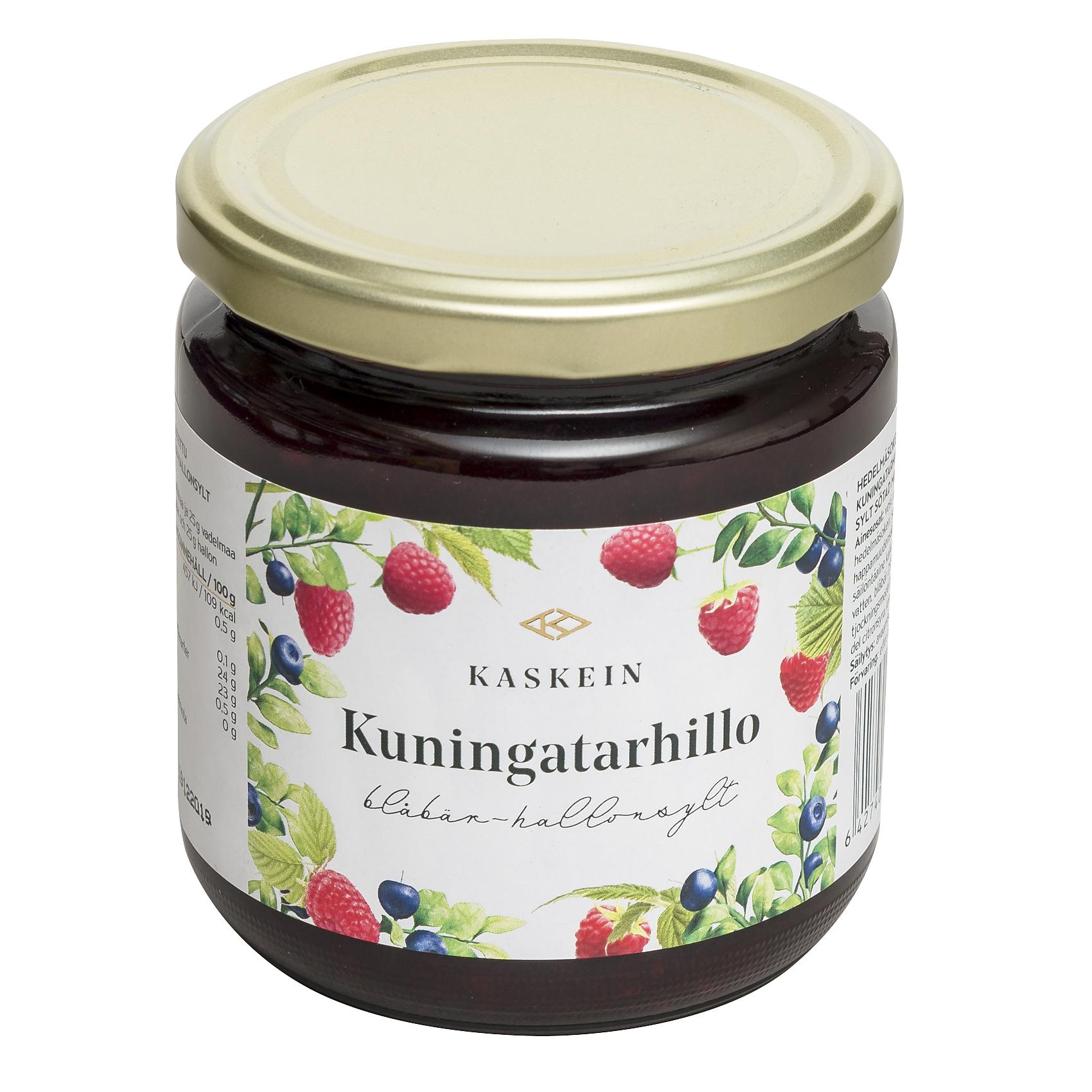 Bilberry-raspberry jam, 425 g