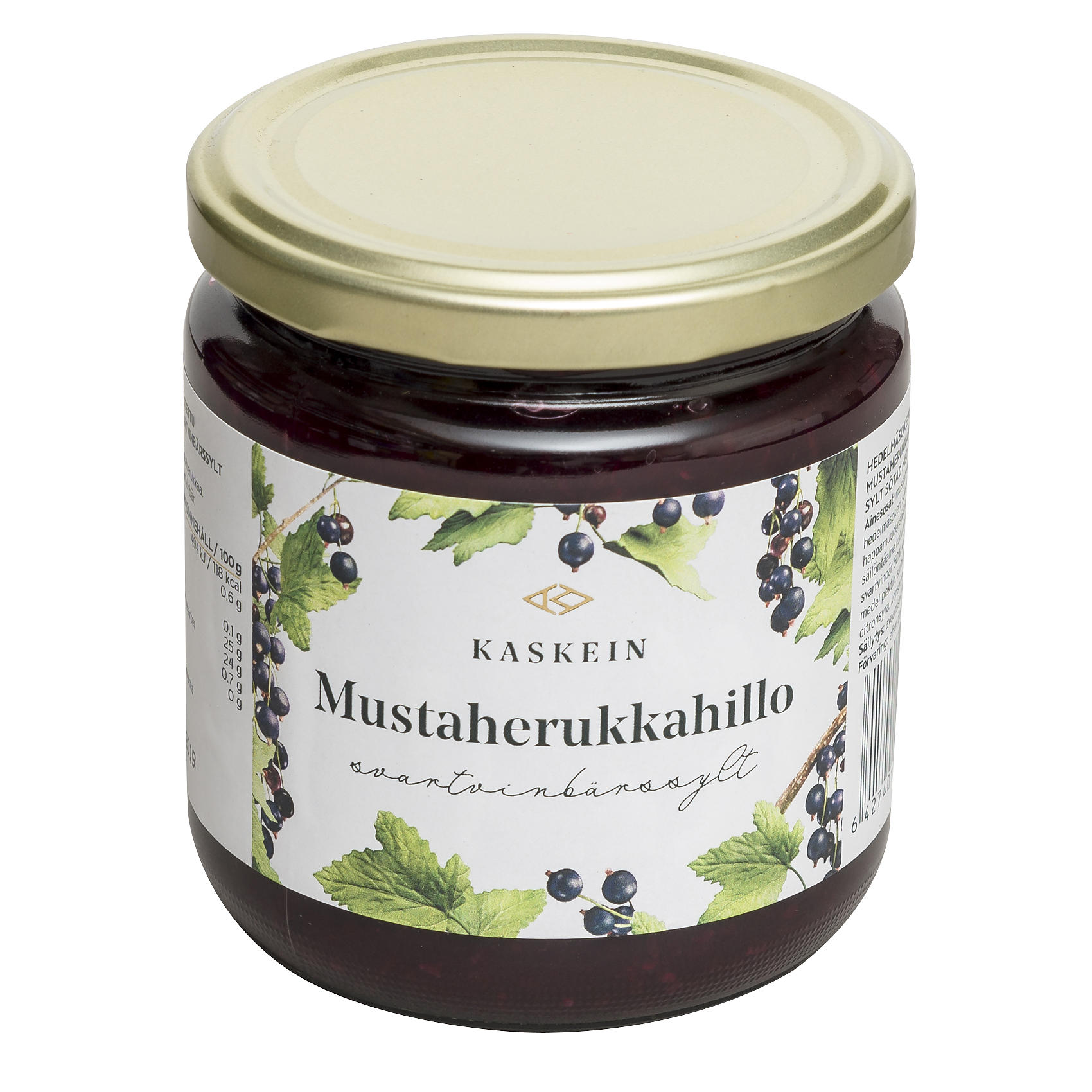 Blackcurrant jam, 425 g