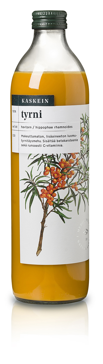 Organic 100% sea buckthorn juice, 0,5l