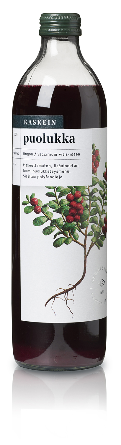 Organic 100% lingonberry juice