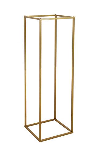 Tall Gold frame Plinths hire Sydney