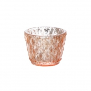 Rose gold mixed tea light votives hire sydney