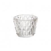 Silver & crystal votive tea light hire Sydney