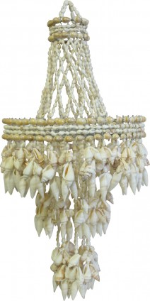 Shell chandeliers hire Sydney