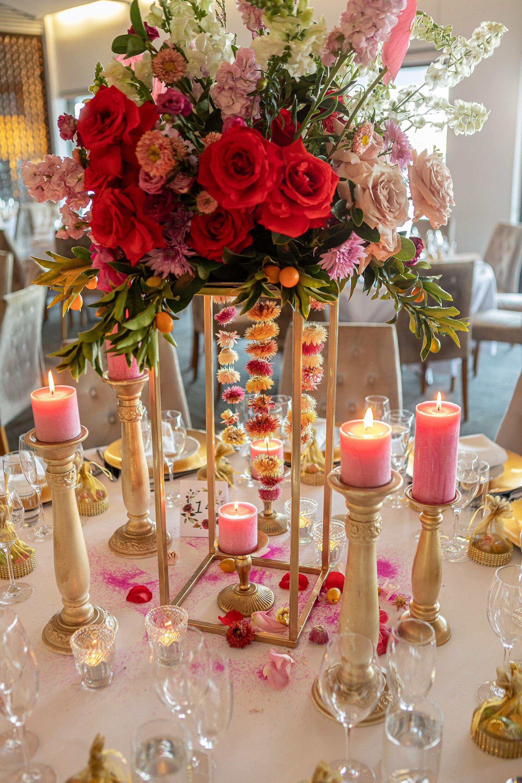 Sydney wedding stylist bright bold wedding
