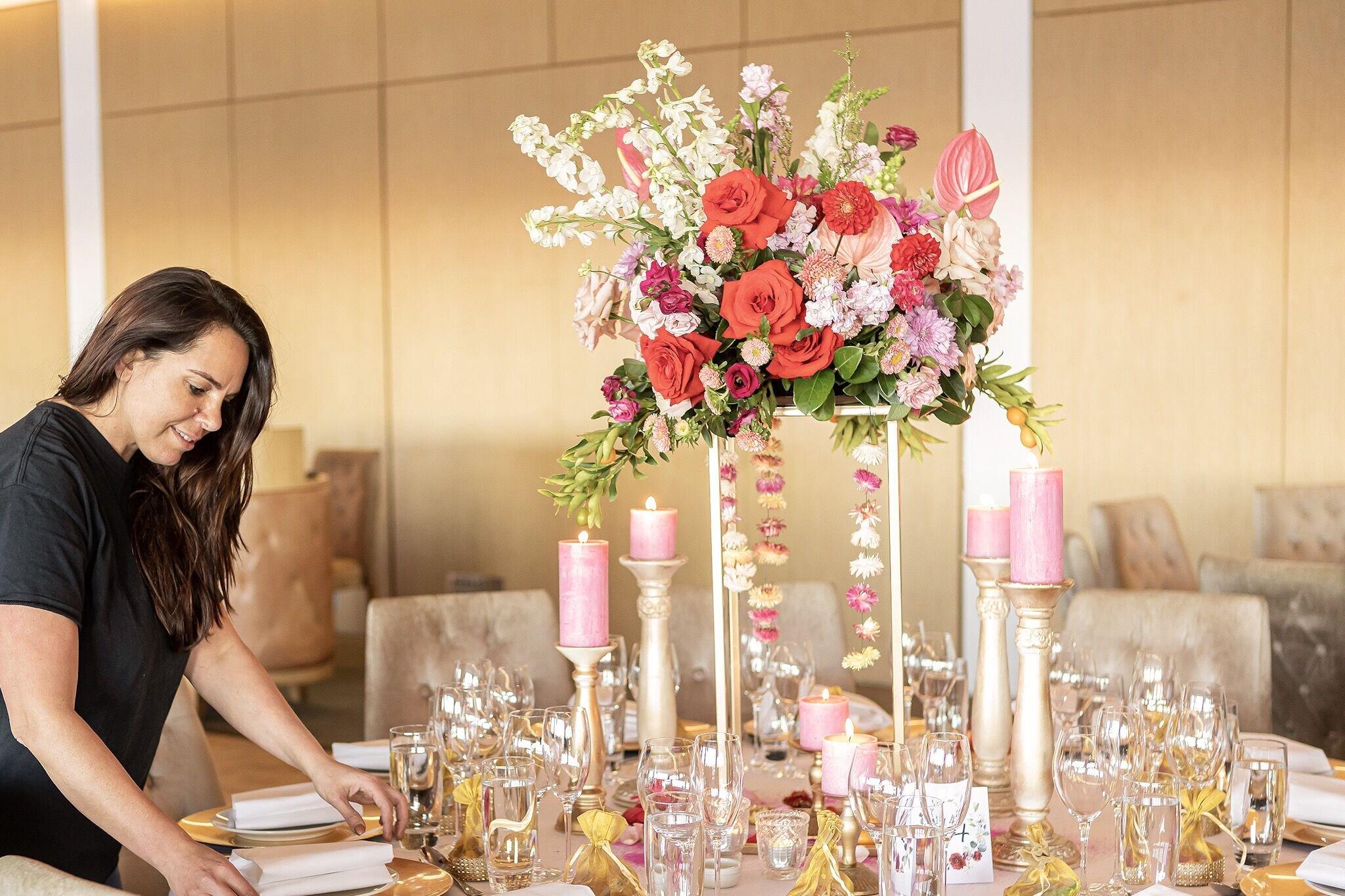 Chanele Rose flowers Sydney wedding stylist