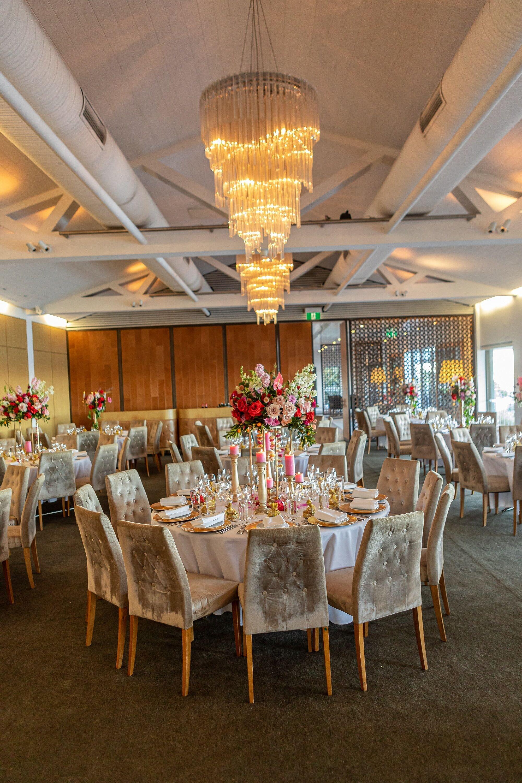 sergeants mess colourful wedding sydney
