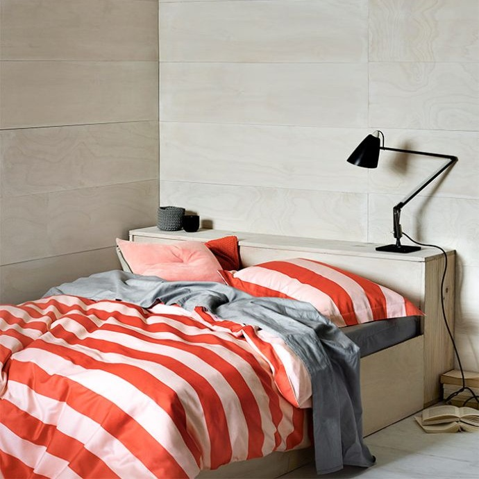Aura Wide Stripe Quilt Cover