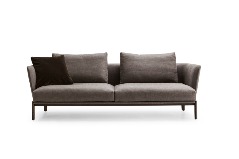 CHELSEA  - MOLTENI&CThe Chelsea collection, designed by Rodolfo Dordoni in 2014, is enriched with three new items: a sofa and an armchair, both featuring snug backrests, and a bench. All three items are designed to create a cosy corner in a large living room, a special space in which to chat and relax. The solid wood frame and clean-cut geometric lines are complemented by the fluid line of the backrests, ensuring a comfortable and refined seat.Designer: Rodolfo DordoniRRP: from $8,215