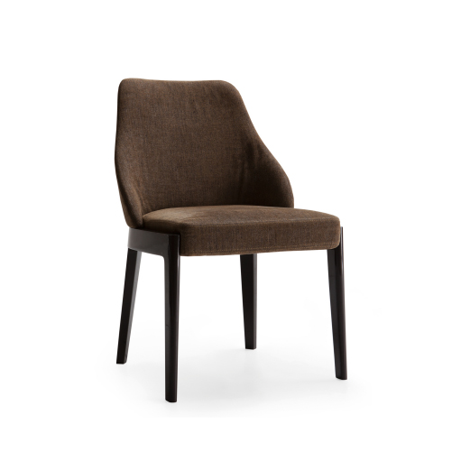 CHELSEA - MOLTENI&CLike the armchair from the same range, the Chelsea chair summarises the essence of contemporary design and the memory of tradition. It is an ideal tendency towards the future which brings with it the knowledge. Chelsea is a series of chairs in varied styles, particularly well-suited to dining rooms where the pleasure of good food is accompanied by the pleasure of cultured, cosmopolitan conversation. With a frame of simple design but elegant proportions, it comes in three backrest options: two with arms, one without. Master craftsmanship values are expressed by the processing of the highest quality raw materials, from wood, fabric and leather. The details are made with care and passion that ensure the appeal of these extremely versatile seats.Designer: Rodolfo DordoniRRP: from $1,870