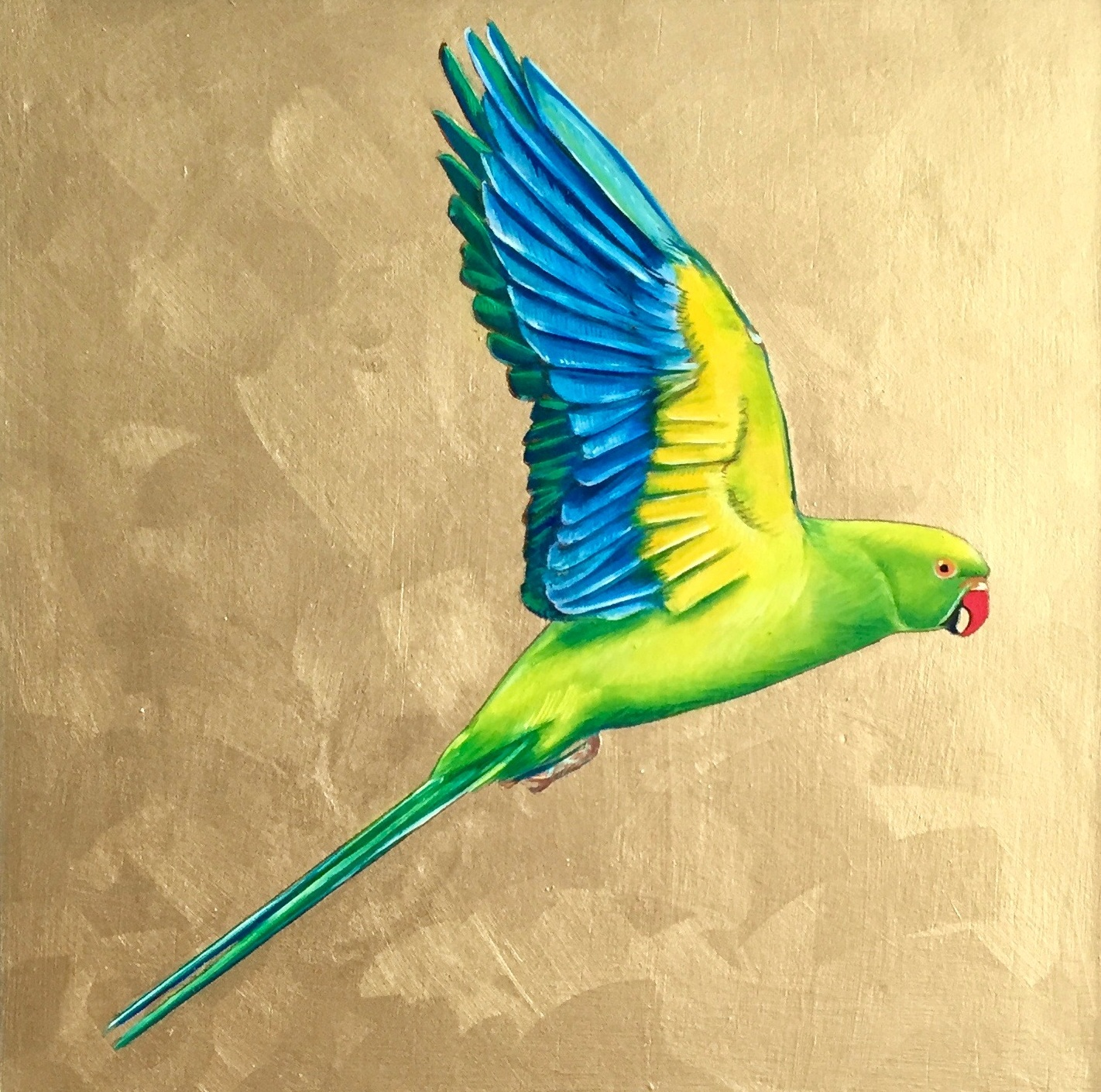Commission: Parakeet Painting