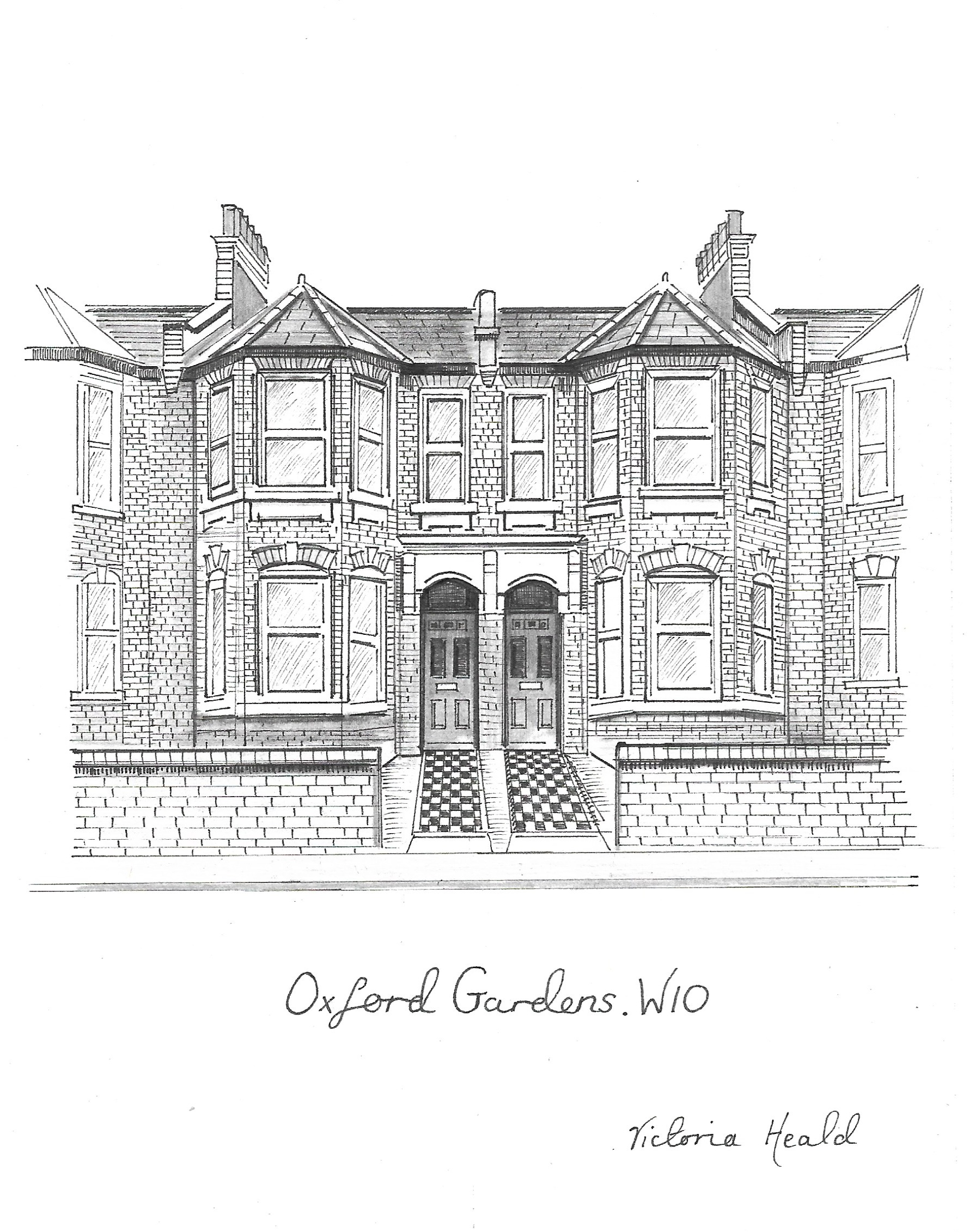 London Homes Series. Oxford Gardens. W10