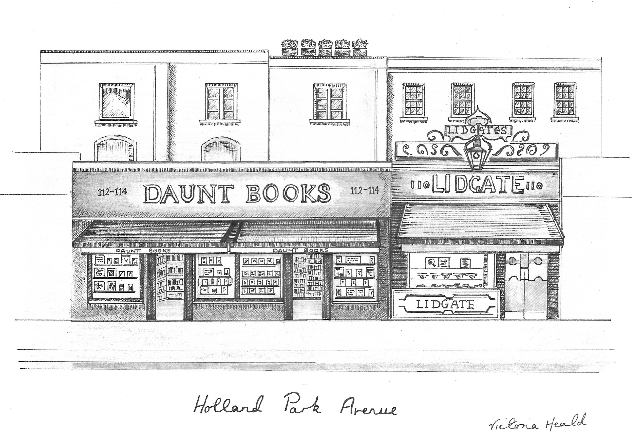 London Series | Holland Park Avenue