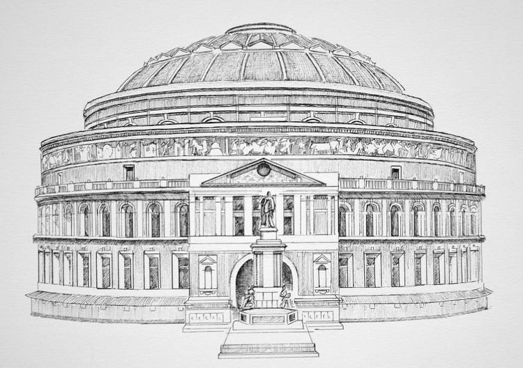 Royal Albert Hall Print