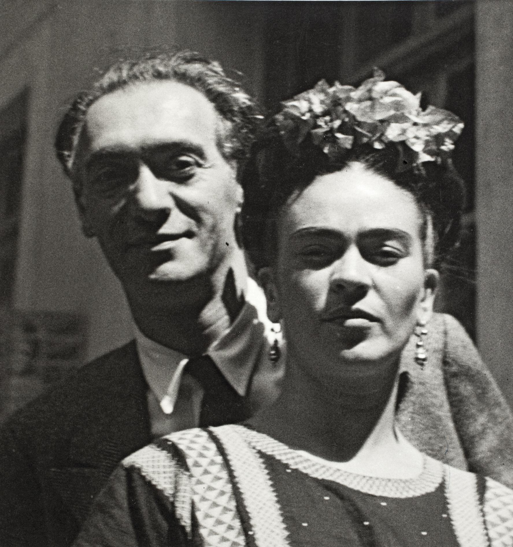 Nickolas Muray and Frida Kahlo , by Nickolas Muray, 1939 ©Frida Kahlo Museum