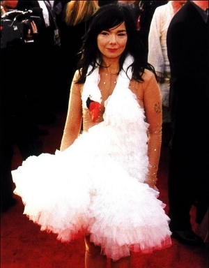 The infamous swan dress (copyright creative commons)