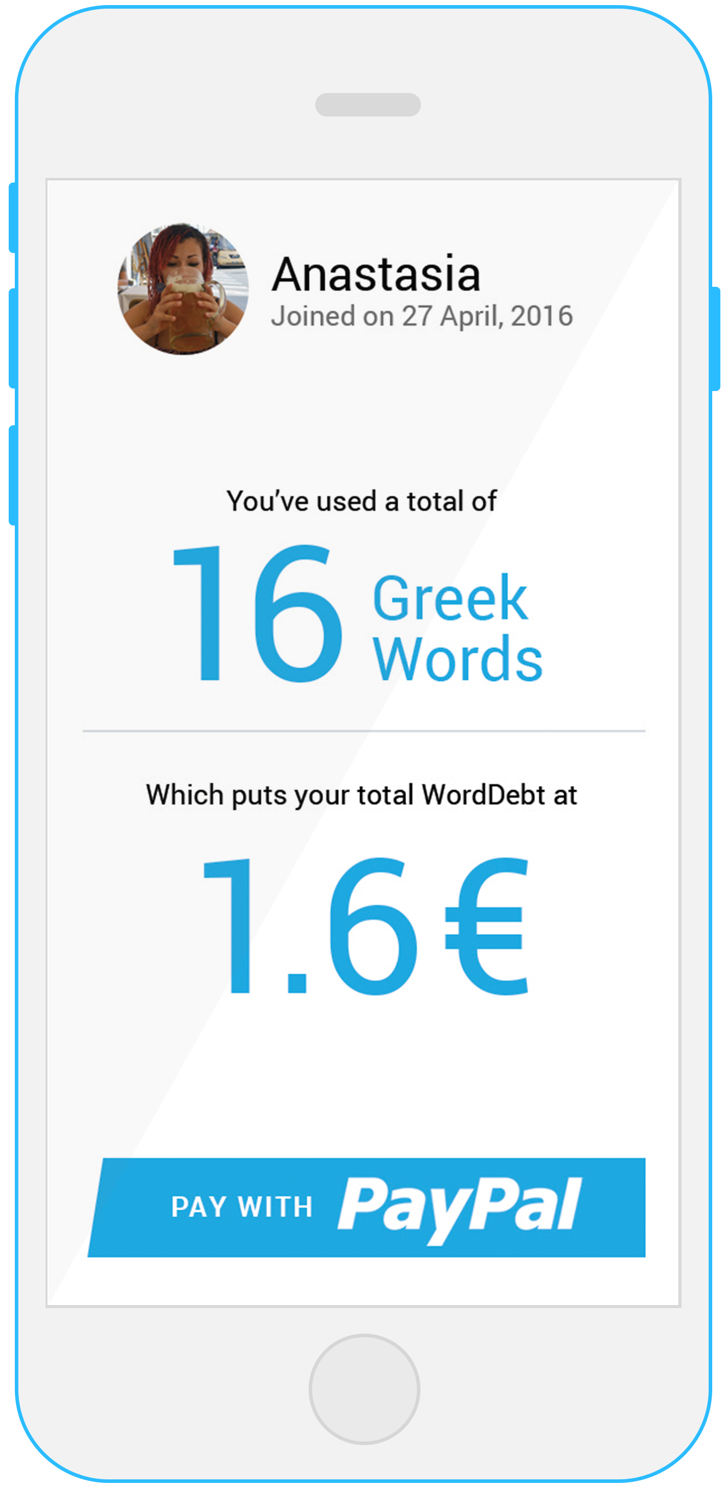 1 WORD = 0.10€ - Donate 0.10€ to Greek education for every Greek word used.