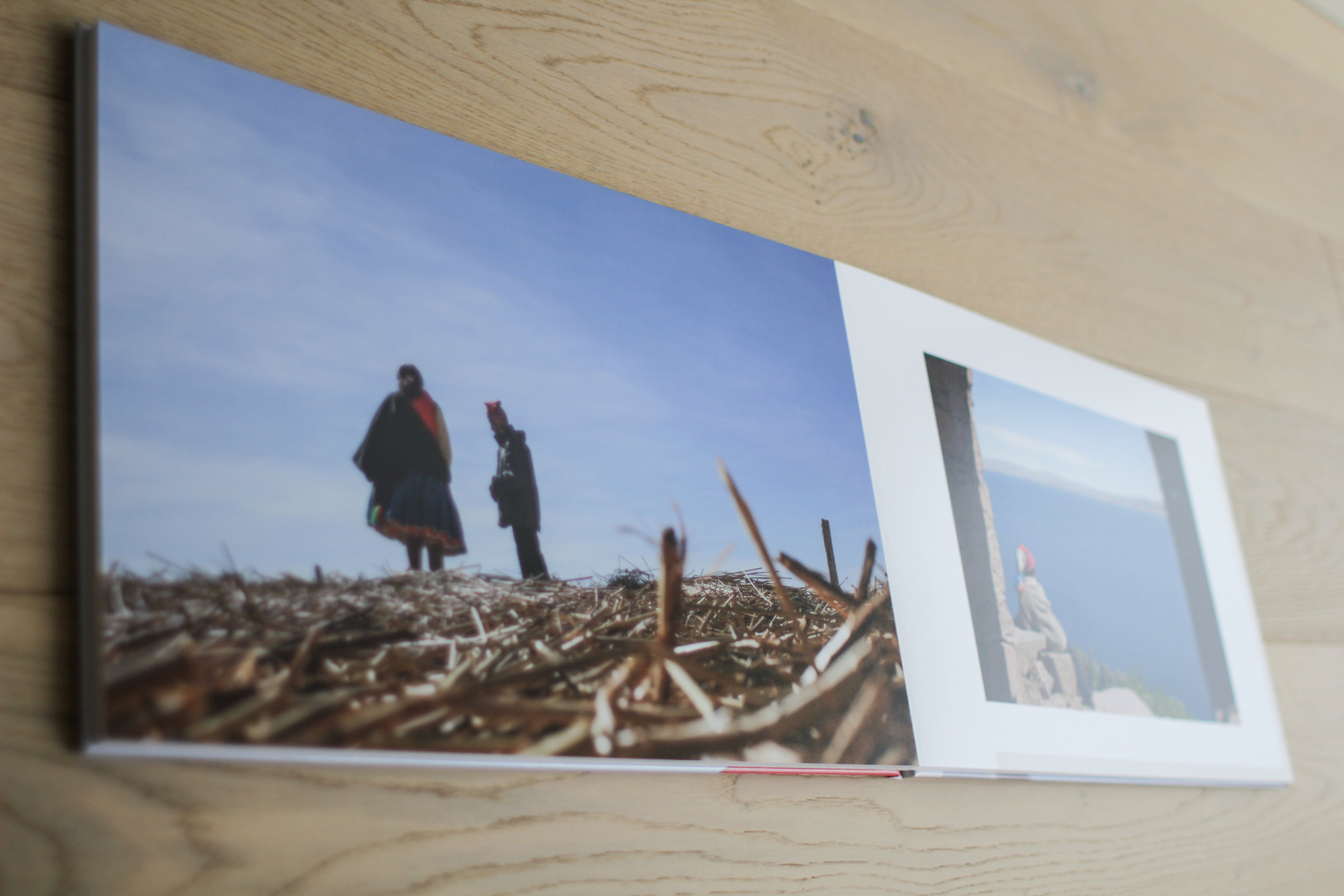 Saal Digital UK Photo Book Product Review showing the fine printing with this photo of Puno in Peru