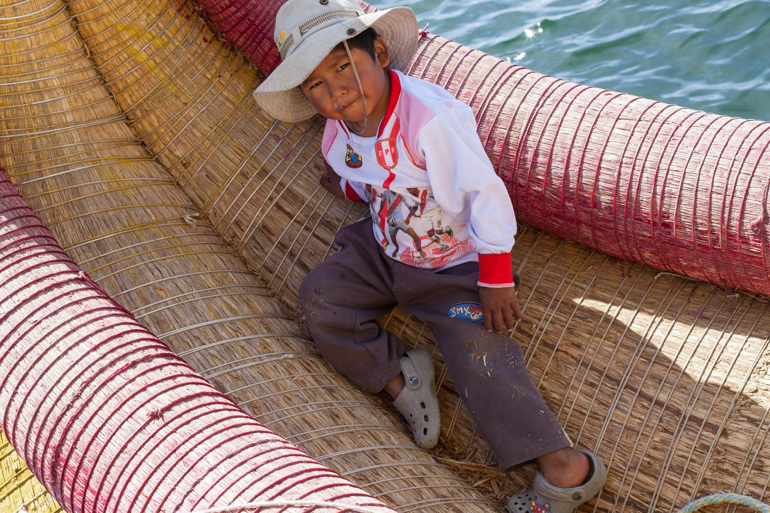 Lake Titicaca, visit Peru.