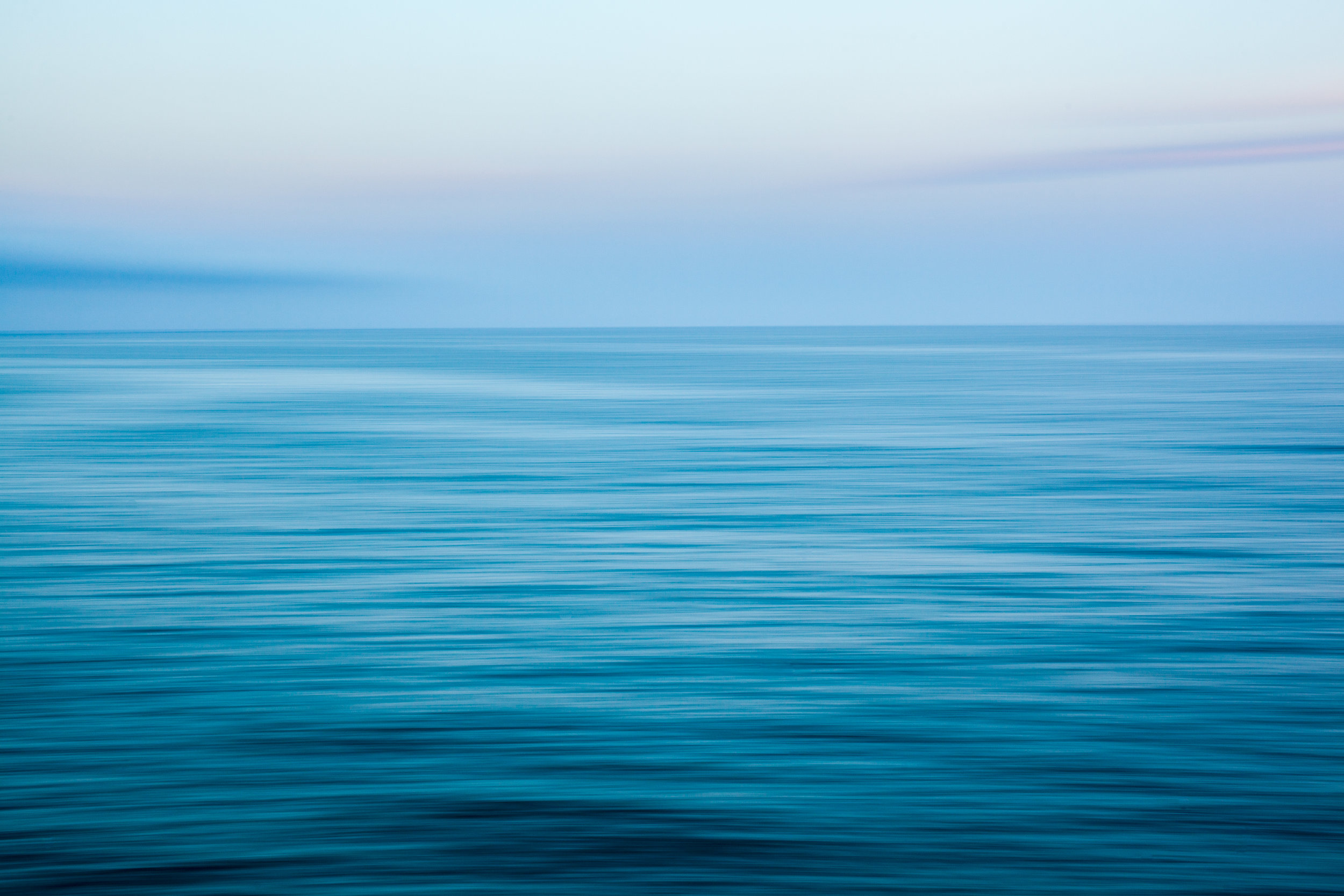 Abstract ocean photography in Barcelona, Spain.