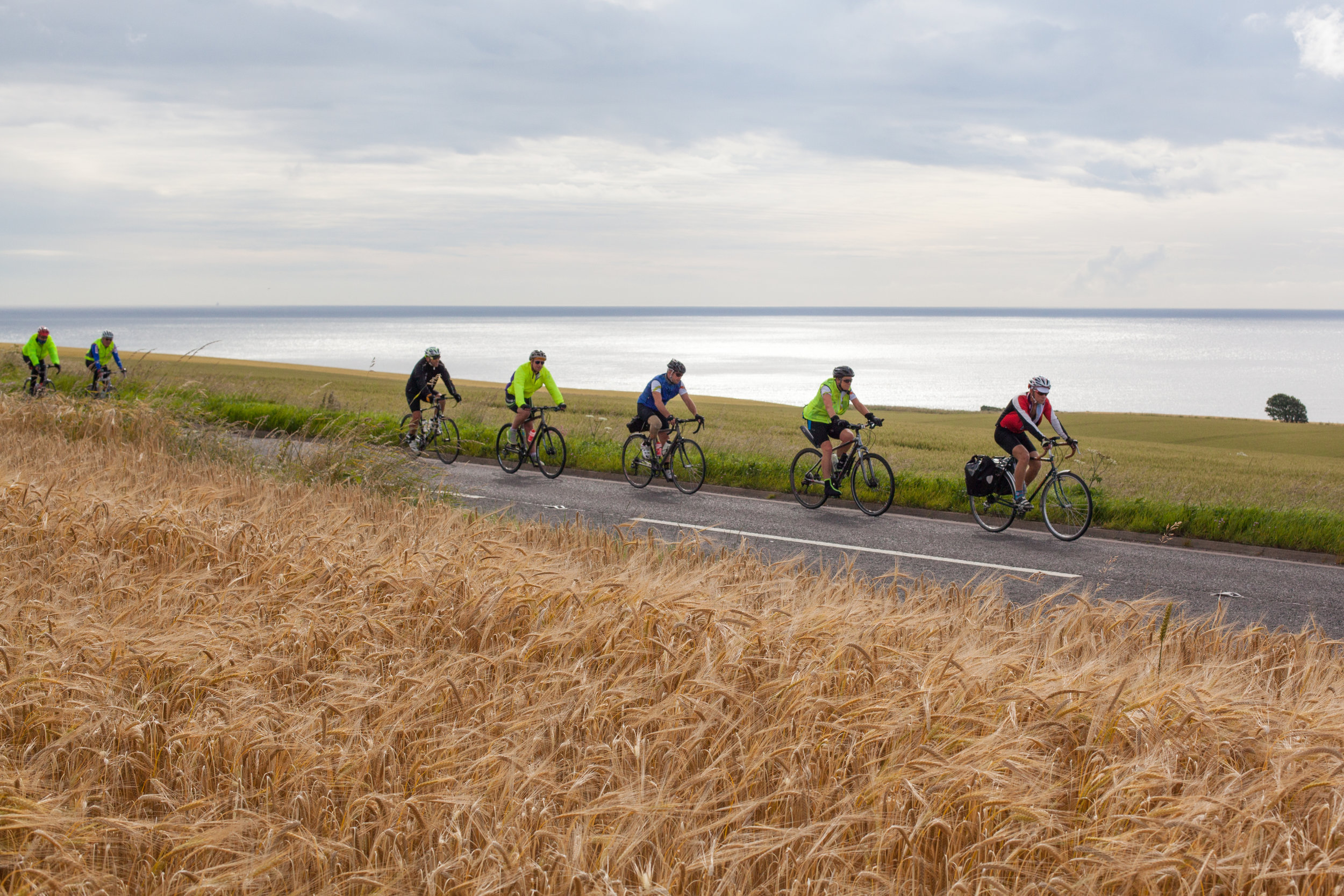 Cycling the beautiful coastline of Great Britain.